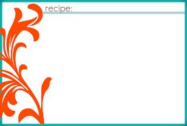 free recipe card template for word excel recipe template for