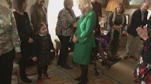 Clarence House London by Children Help Camilla Decorate Clarence House Christmas Tree Youtube