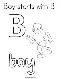 letter b coloring pages twisty noodle