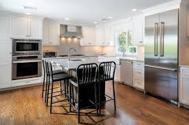 Contrasting Kitchen Cabinets Custom Built Shaker Cabinets Sea Girt New Jersey By Design Line