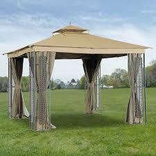 Mainstays Grill Gazebo by Patios Using Stunning Garden Winds Gazebo For Cozy Outdoor