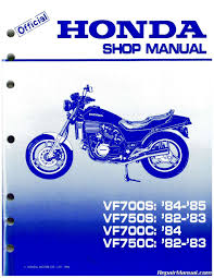 1982 1985 honda vf700c magna vf750s v45 sabre motorcycle