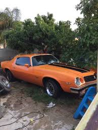 2nd 1974 chevrolet camaro w rebuilt engine for sale in