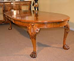 Queen Anne Dining Room Furniture by Antique Bur Walnut Queen Anne Style Dining Table C1920