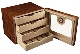 cigar humidor cabinet style display box