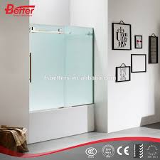 half glass shower doors half glass shower doors suppliers and