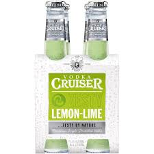 vodka tonic lemon cruiser vodka zesty lemon lime 4x275ml woolworths