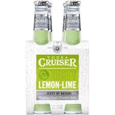 vodka tonic lemon cruiser vodka zesty lemon lime 4x275ml woolworths