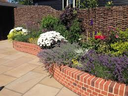 brickwork and flint panel walls by roger gladwell landscaping and