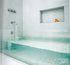 glass bathtub for sale make a big splash clear glass tub apartment therapy