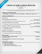 Sample Child Actor Resume by Child Care Resume No Experience Child Care Resume Sample No