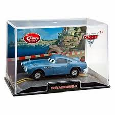 fin mcmissle disney store cars 2 die cast collector finn mcmissile 1 43