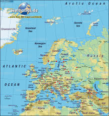 Picture Of A World Map by Map Of Europe Map Of The World Physical Map In The Atlas Of The