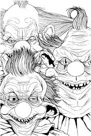 the art of jason flowers killer klowns in progress