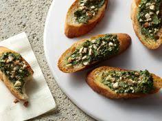 spinach almond crostini recipe spinach almonds and