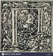 sixteen ornamental letters m p q 53 31 2 13a p 1 of 16 stock