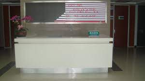 Rounded Reception Desk by Office Table White Salon Reception Desk Uk White Corian