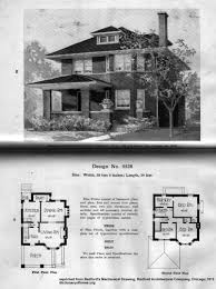 Classic Colonial Floor Plans by Maybe Your Foursquare House Is From A Catalog House Foursquare