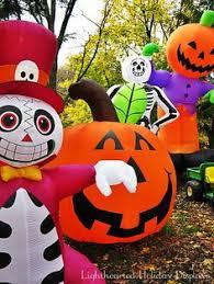 scary outdoor halloween blow ups estupendo adorno para la noche