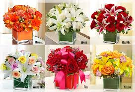 flowers arrangements of cube flower arrangements le jardin florist