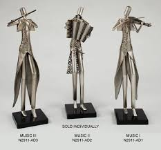 61 best music related statues sculptures u0026 figurines images on