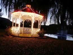 decoration cool inexpensive gazebo lights target some ideas yard