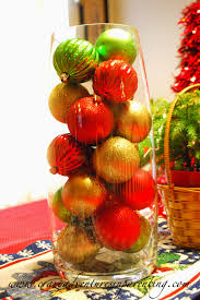 Ideas For Christmas Centerpieces - cheap homemade christmas decorating ideas centerpieces ornament