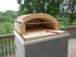 Brick Oven Backyard by How To Build A Temporary Wood Fired Brick Pizza Oven With Cheap