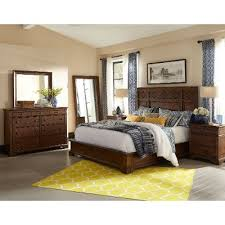Coffee Brown Classic  Piece King Bedroom Set Trisha Yearwood - Rc willey king bedroom sets