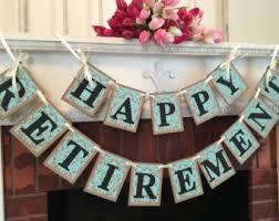 retirement party decorations retirement party banner retirement banner