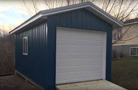 10x20 Garage Maintenance Free Sheds Premium Pole Building And Storage Sheds