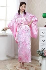 aliexpress com buy light blue japanese women u0027s silk satin kimono
