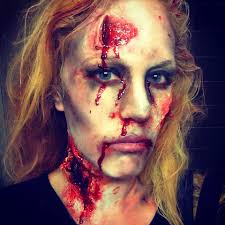 Dead Face Makeup Halloween How To Zombie Walking Dead Halloween Makeup Oz Product Junkie