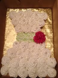 wedding dress cupcake cake idea in 2017 bella wedding
