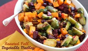 roasted autumn vegetable medley she leesh lu