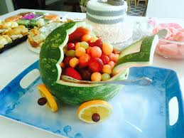 watermelon baby carriage how to make a fruit salad recipes on