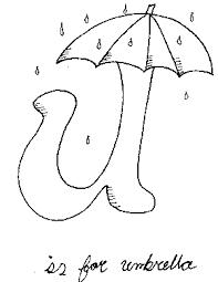 umbrella coloring