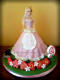barbie doll bday cake decorating party