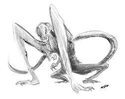 cloverfield monster sketch by dopepope on deviantart