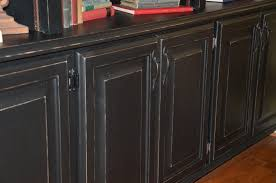 Painting And Glazing Kitchen Cabinets Black Glazed Cabinets Nrtradiant Com