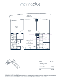 marina blue condos 888 biscayne blvd miami fl 33132 marina blue floorplan model b7