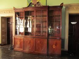 Break Front Bookcase Matthews Auction At Headfort House Kells Antiquesandartireland Com