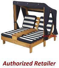 Chaise Lounge Outdoor Kidkraft Double Chaise Lounge Outdoor Chair W Canopy Kids Honey