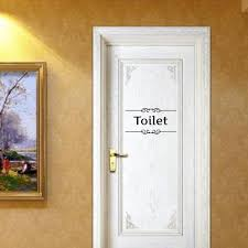 aliexpress com buy vintage wall sticker toilet sign for bathroom