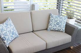 Cushion Covers For Patio Furniture Interesting Patio Furniture Cushion Complete Replacement With