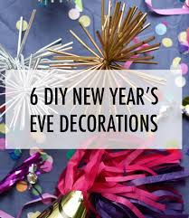 New Year Decoration Blog by 6 Diy New Year U0027s Eve Decorations The Dandy Liar Fashion