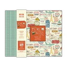 scrapbook album 12x12 edition 12x12 travel notes scrapbook album patterned