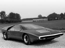 1968 alfa romeo carabo concept