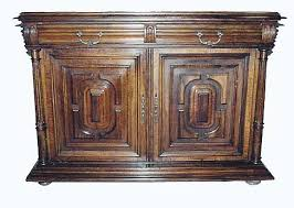 antique french buffet cabinet in henri ii style