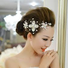 free shipping fashion bridal vintage lace flower hair jewelry
